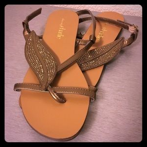 Charming Charlie Sequined Sandals